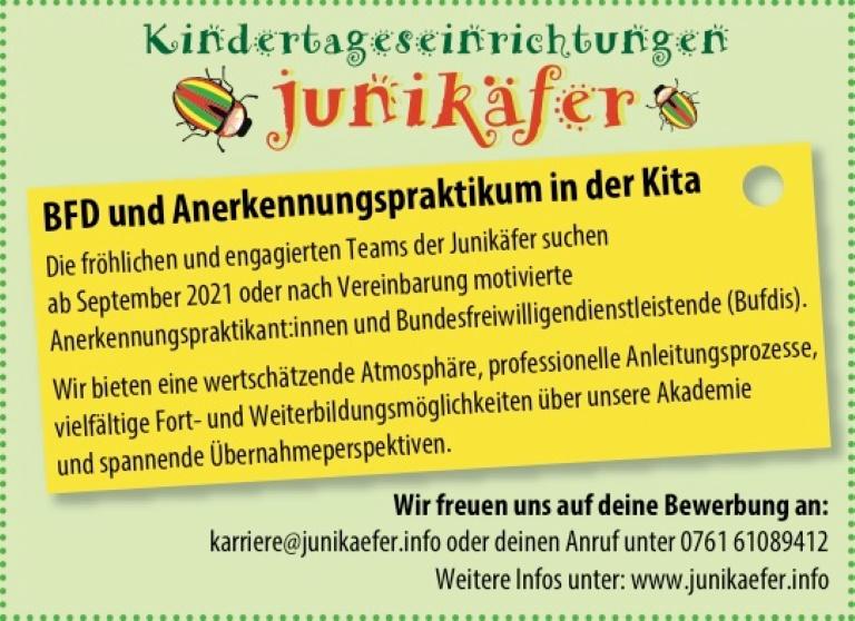 Kindertagesreinrichtung Junikäfer <SA