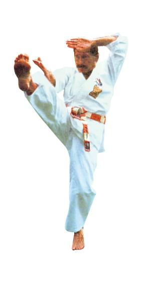 Karatesport direkt beim Begründer