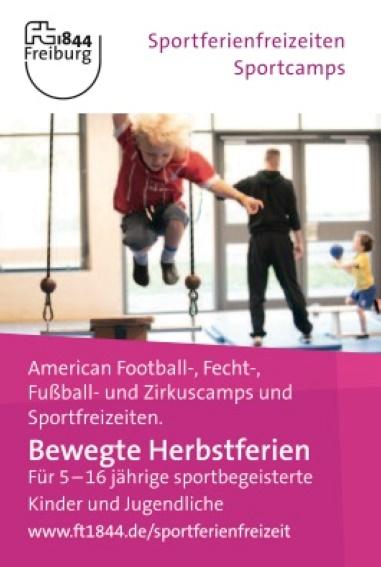 Bewegte Herbstferien: Sportfreizeiten / Sportcamps