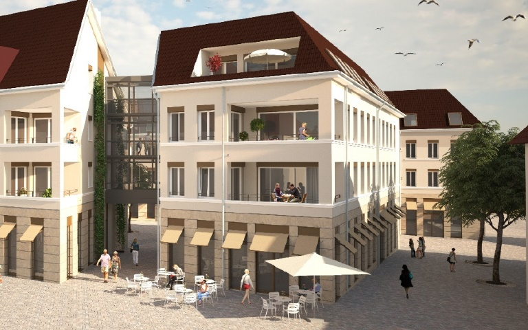 Charmante Gastronomie in modernem Neubau