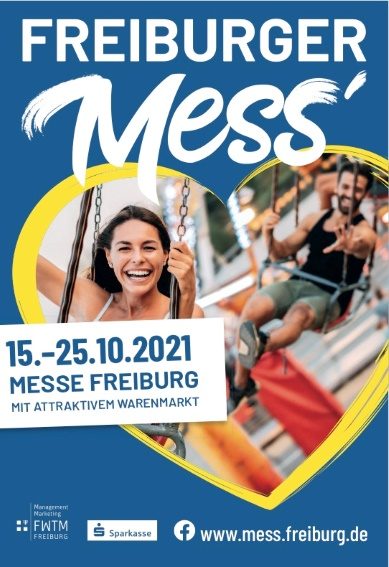Freiburger Mess´ vom 15.-25.10.2021, Messe Freiburg