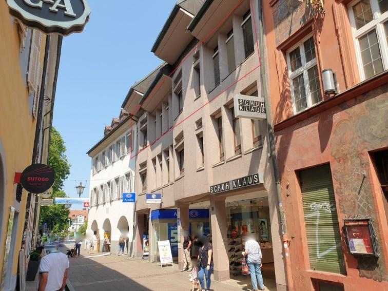 Kapitalanlage in stark frequentierter Innenstadtlage von Freiburg