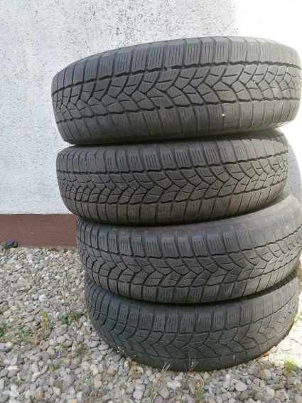 4 FELGEN Reifen Firestone 155/70 R13 75T  zu verschenken