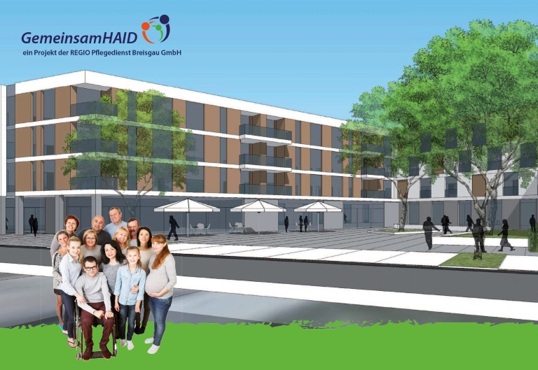 Zimmer frei in offener Mehrgenerationen-Pflege-WG