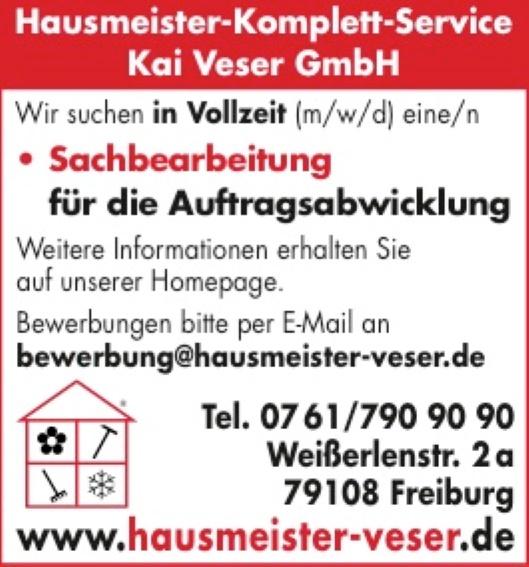 Hausmeister-Komplettservice Kai Ve