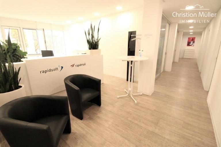 Ca. 421 m² Bürofläche in auffälligen & etablierten Gebäude AUGUSTINER 2 in Freiburg