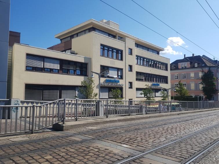 TOP-Zentrale Bürofläche mit rd. 587 m² Gesamtfläche direkt gegenüber Freiburger Konzerthaus