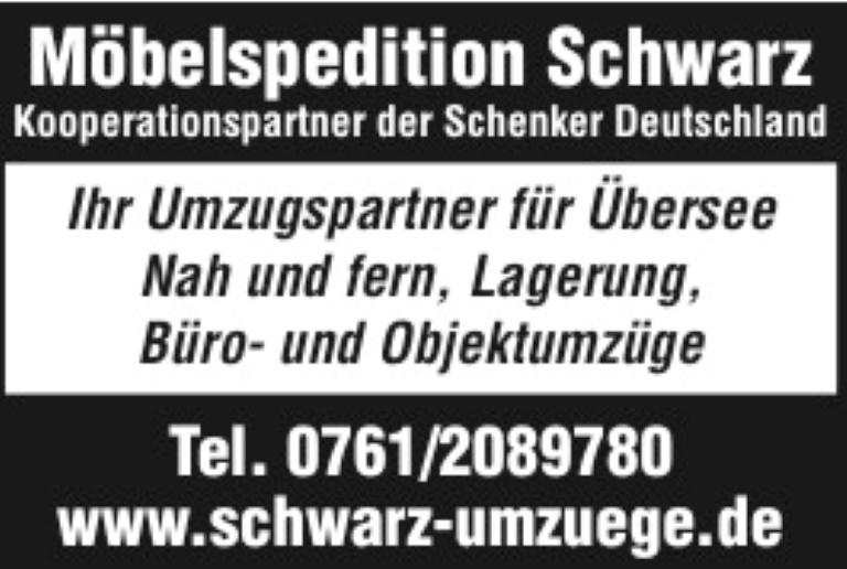 Möbel Spedition Schwarz, Freiburg