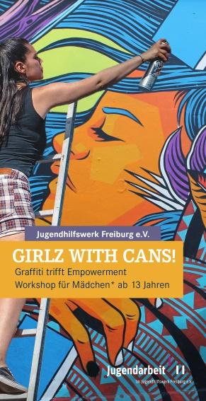 Girlz with Cans - Graffitiworkshop für Mädchen ab 13 Jahren