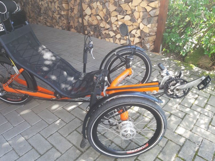 AZUB ECO 20 Liegerad Trike