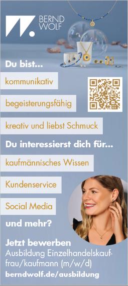 Ausbildung Einzelhandelskauffrau/kaufmann (m/w/d)