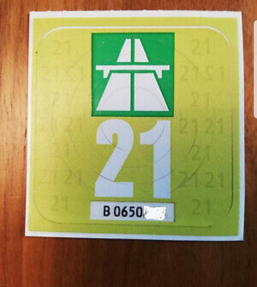 Autobahnvignette 2021 Schweiz