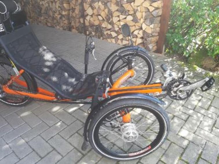 Liegerad Trike AZUB ECO 20