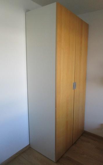 Kleiderschrank Hülsta (NP 1.600 €) mit Spiegel, 102x230x61 cm