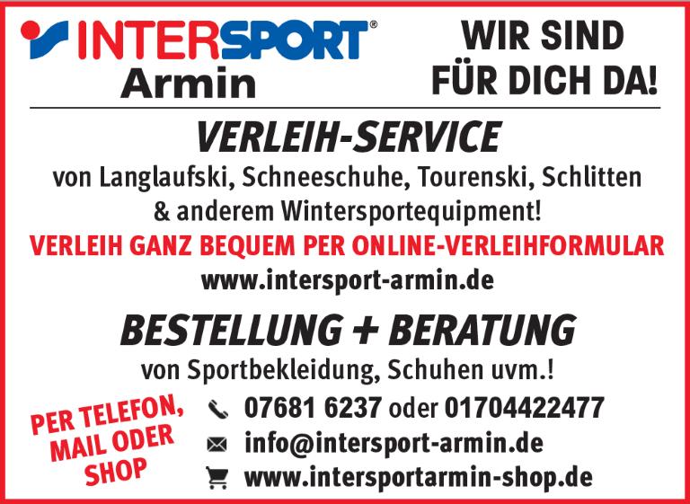 Intersport Armin: