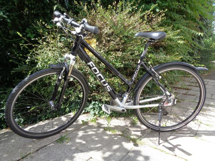 DA-Fahrrad FOCUS Black Stone M/50cm