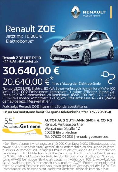 Autohaus Gutmann, Ehrenkirchen