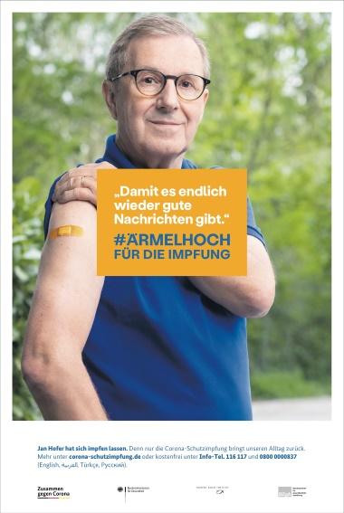 #ÄRMELHOCH für die Impfung