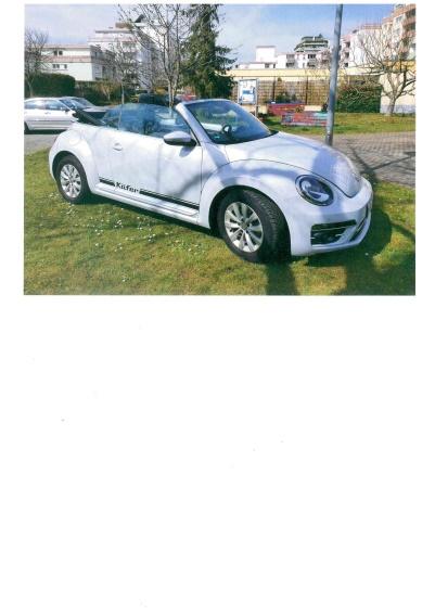 Cabrio Beetle VW
