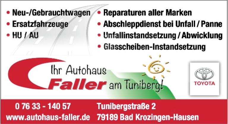 Autohaus Faller, Bad Krozingen-Hausen