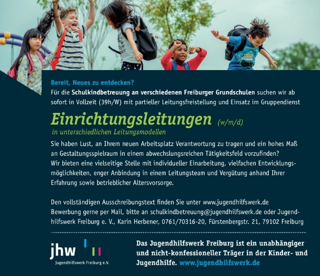 Jugendhilfswerk Freiburg