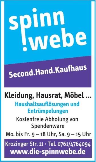 Spinnwebe - Das Second-Hand-Kaufhaus, Freiburg